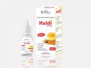Haldi Drops- Herbal Haldi Drops-Betasys Healthcare Pvt Ltd