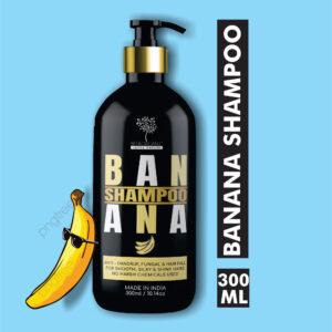 BETAORGANIC BANANA SHAMPOO- Anti Hair Fall Shampoo